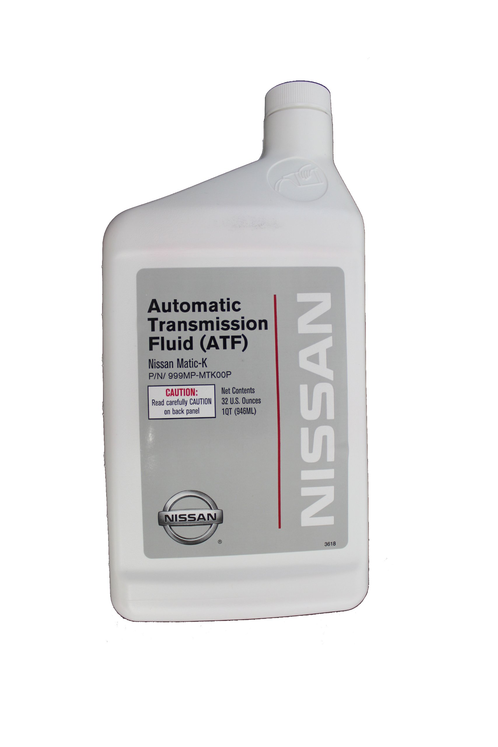 Nissan Genuine Fluid 999MP-MTK00P Matic-K Automatic Transmission Fluid - 1 Quart by Nissan