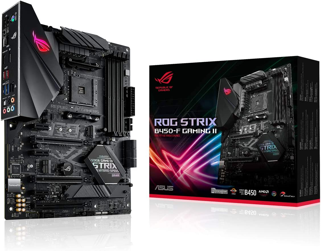Asus Rog Strix B450 F Gaming Ii Motherboard Socket Am4 Computers Accessories
