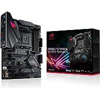 ASUS ROG STRIX B450-F GAMING II AMD B450 AM4 DDR4 4400 DP HDMI Çift M2 USB3.2 ARGB COM ATX 128GB'a kadar ram desteği, AI…