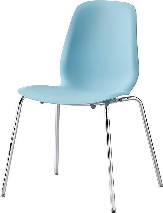 IKEA Trading Leifarne Ltd Clair ZigZag Chaise Bleu 3R5jL4A
