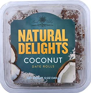 product image for Bard Valley (NOT A CASE) Natural Delights Coconut Date Rolls