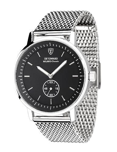 DETOMASO Reloj Forza Di Vita con Segundo Display Separado DT1072-G: Amazon.es: Relojes