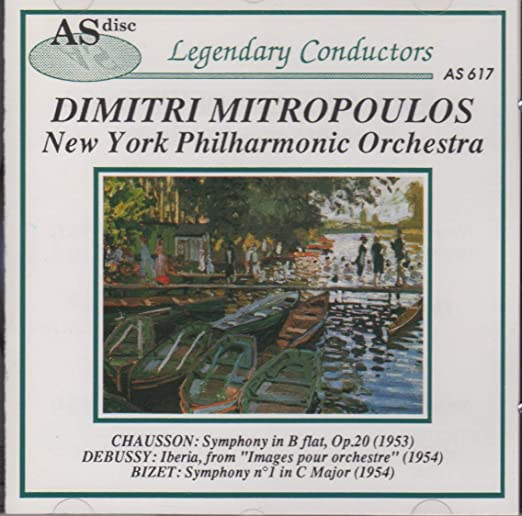 Chausson: Symphony in B / Debussy: Ibéria / Bizet: Symphony No. 1