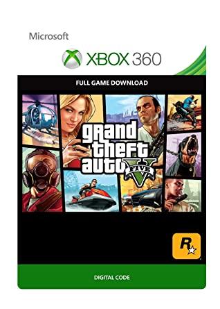 GTA V [Xbox 360 - Download Code]: Amazon co uk: PC & Video Games