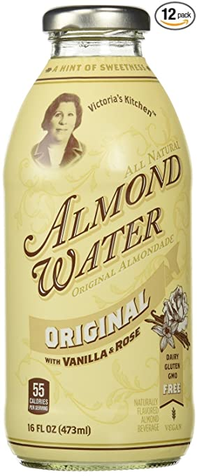 victorias kitchen almond water original 16 ounce bottles pack of - Victorias Kitchen Almond Water