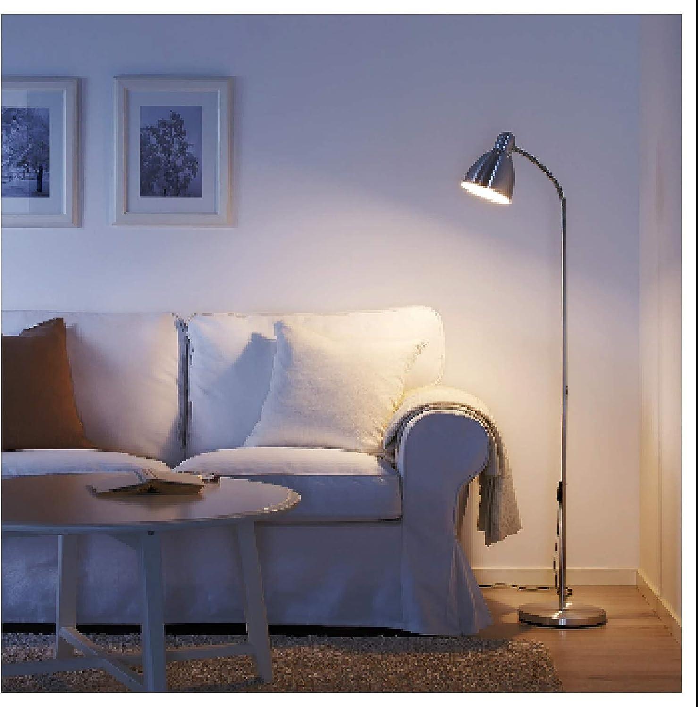 Ikea Lersta Stehleuchte Aluminium Amazon De Beleuchtung