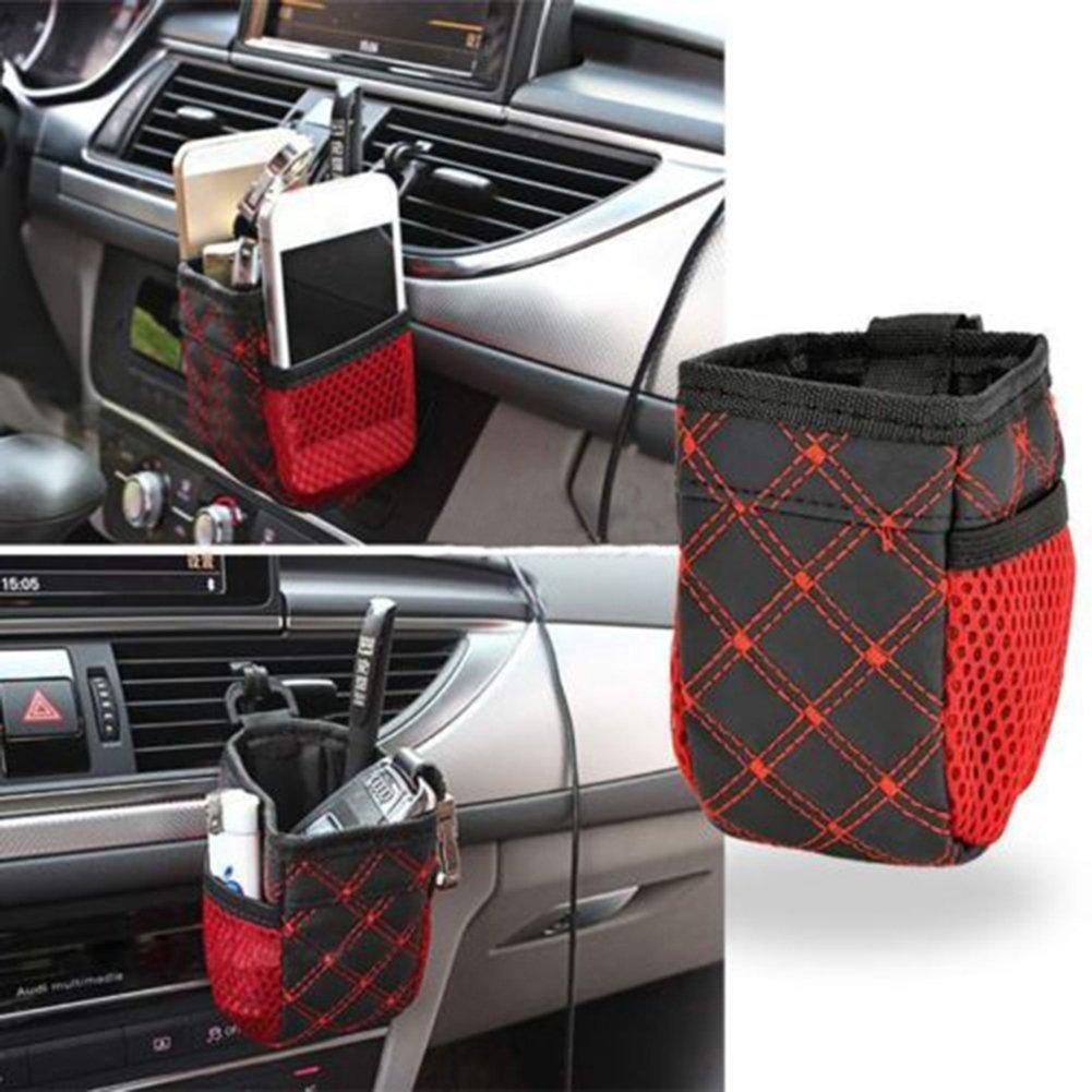 Bolsa organizadora Exoh para colgar en el coche y guardar bebidas, el telé fono y otros accesorios el teléfono y otros accesorios