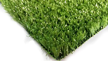 Amazon Com Pzg Artificial Grass Rug W Drainage Holes Rubber