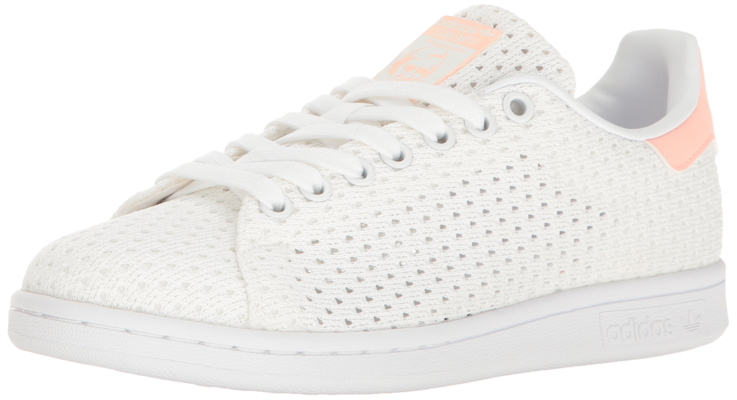 huge selection of 28557 af6aa Galleon - Adidas Originals Womens Shoes Stan Smith Fashion Sneakers,  WhiteWhiteHaze Coral, 9 M US
