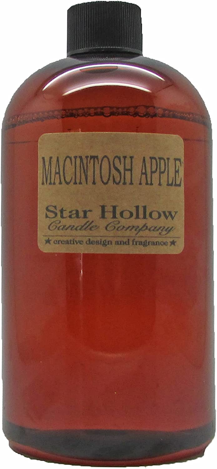 Star Hollow Candle Co Macintosh Apple Fragrance Oil, 16 oz, Brown