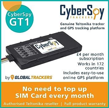 CyberSpy GT1 - Rastreador de Coche con GPS para Caravana ...
