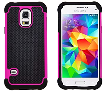G-Shield Funda para Samsung Galaxy S5 Mini, Carcasa ...