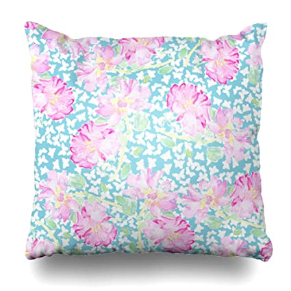 Amazon Soopat Decorative Pillow Cover 40X40 Two Sides Printed Amazing Long Round Decorative Pillows