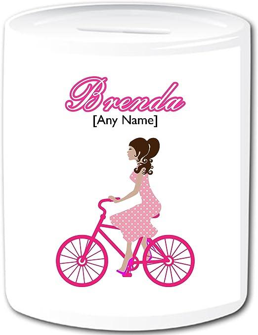 Personalizada Regalos de ciclismo – ciclismo niña dinero caja ...