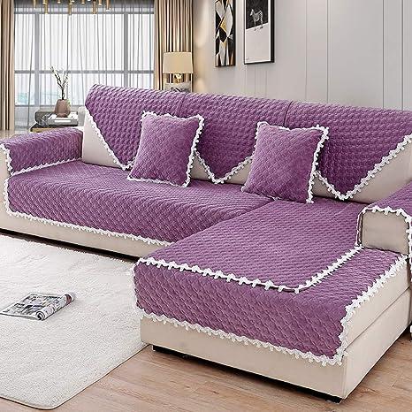 Zzy Varios tamaños Antideslizante sofá Toalla para Invierno ...