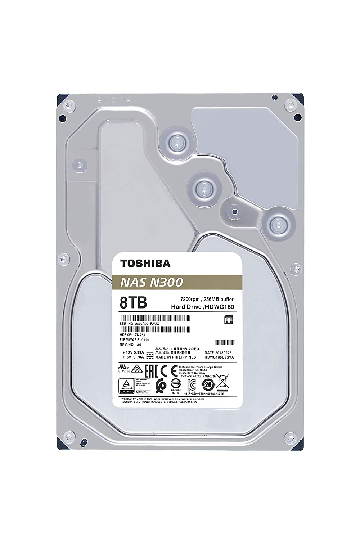 "HDWQ140UZSVA Toshiba N300 4TB NAS 3.5/"" SATA HDD Bulk"
