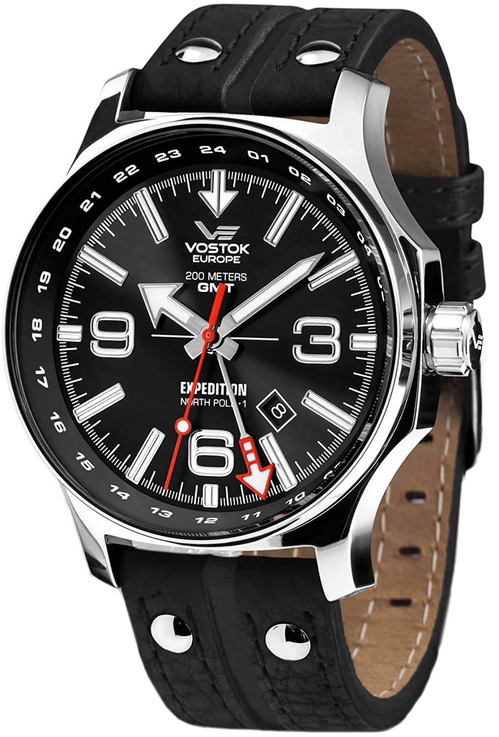 Vostok Europe Expedition North Pole Herr uhren 515.24H-595A500