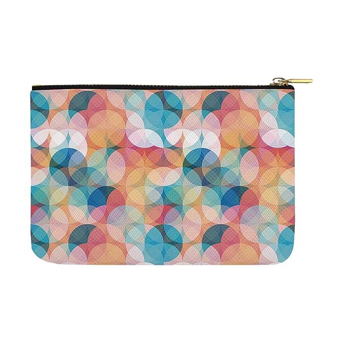 Amazon.com: Geometric Fashion womens canvas coin purse,For ...