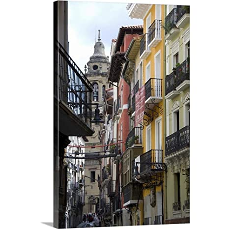Amazon.com: Cindy Miller Hopkins Solid-Faced Canvas Print ...