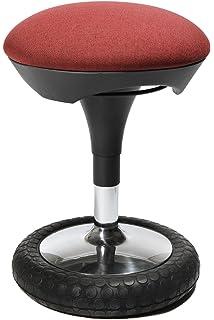 Topstar SI69G27 Sitzhocker Sitness 20, Bezug, Bordeaux Rot
