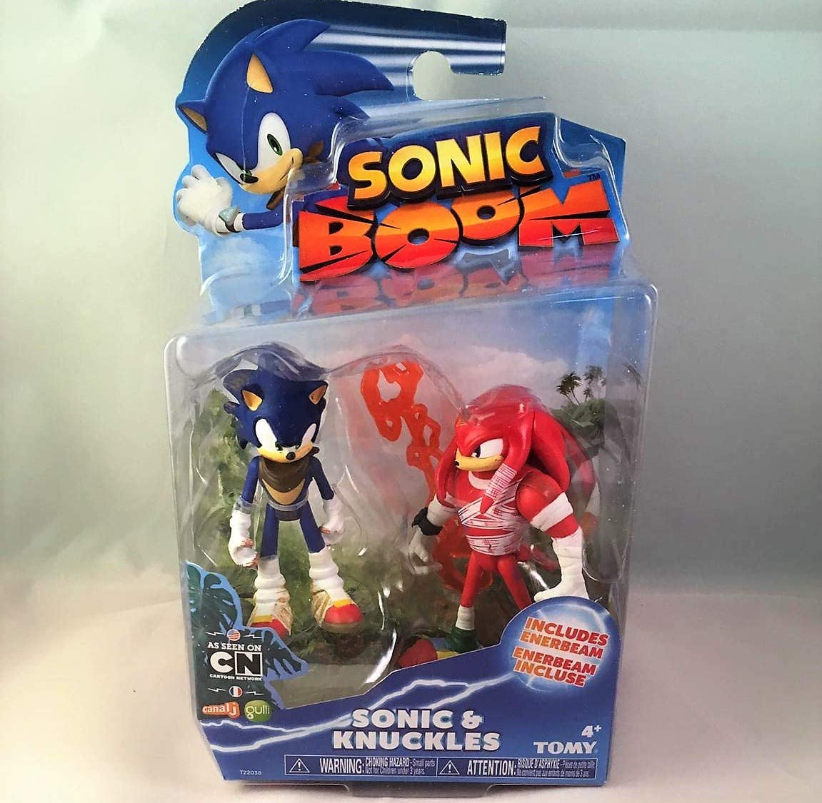 Dos Figuras Sonic Boom Sonic y Knukkles: Amazon.es: Juguetes y juegos
