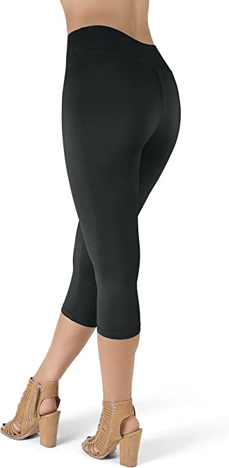 Satina High Waisted Leggings 25 Colors Super Soft Full Length Opaque Slim At Amazon Women S Clothing Store