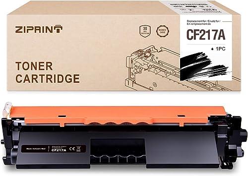 ZIPRINT Compatible HP 17A CF217A (con Chip) Cartucho De Tóner ...