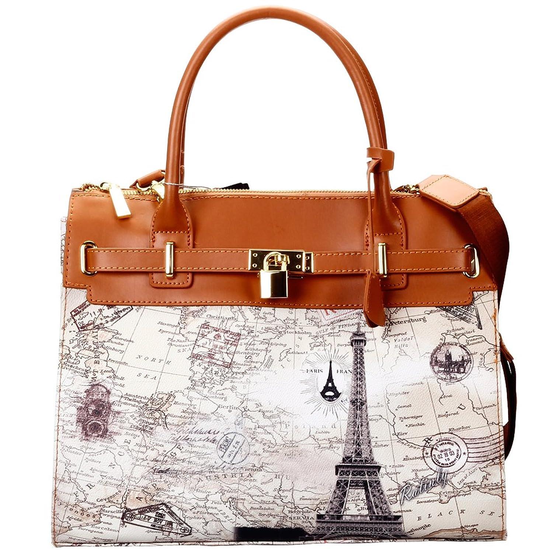 Ratinly New Fashion Printing Leather Platinum Handbag Shoulder Bag