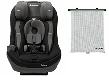 Maxi Cosi 2016 Pria 70 Convertible Car Seat With Tiny Fit Total Black