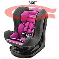 Mycarsit Siège Auto 360°, Groupe 0+/1 (de 0 à 18 kg)