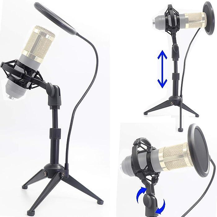 The Best Desktop Condenser Microphone Stand
