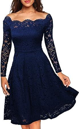 Por favor, mire la medida del vestido en la descripción del producto. La tabla de tamaños de Amazon