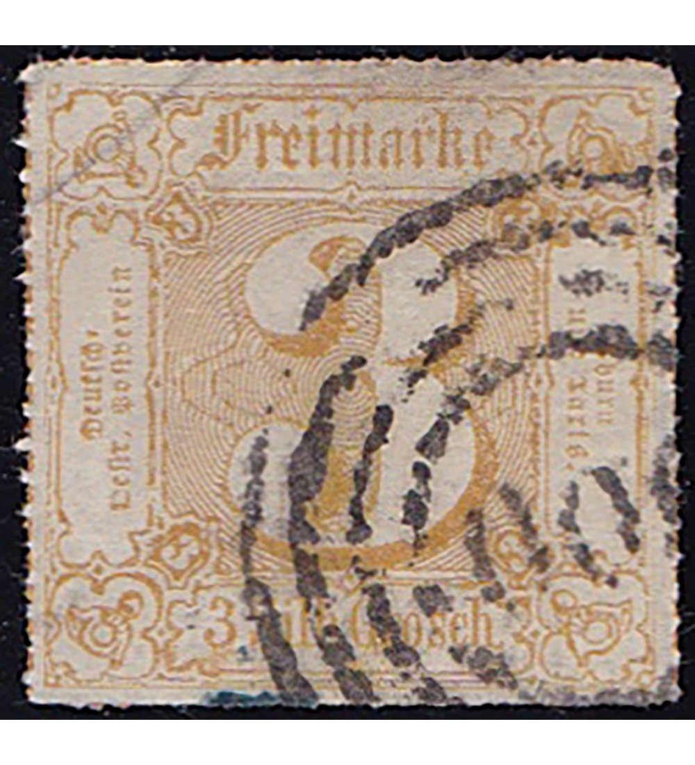 Goldhahn Thurn und Taxis Nr. 50 50 50 gestempelt geprüft Briefmarken für Sammler eb3e8a