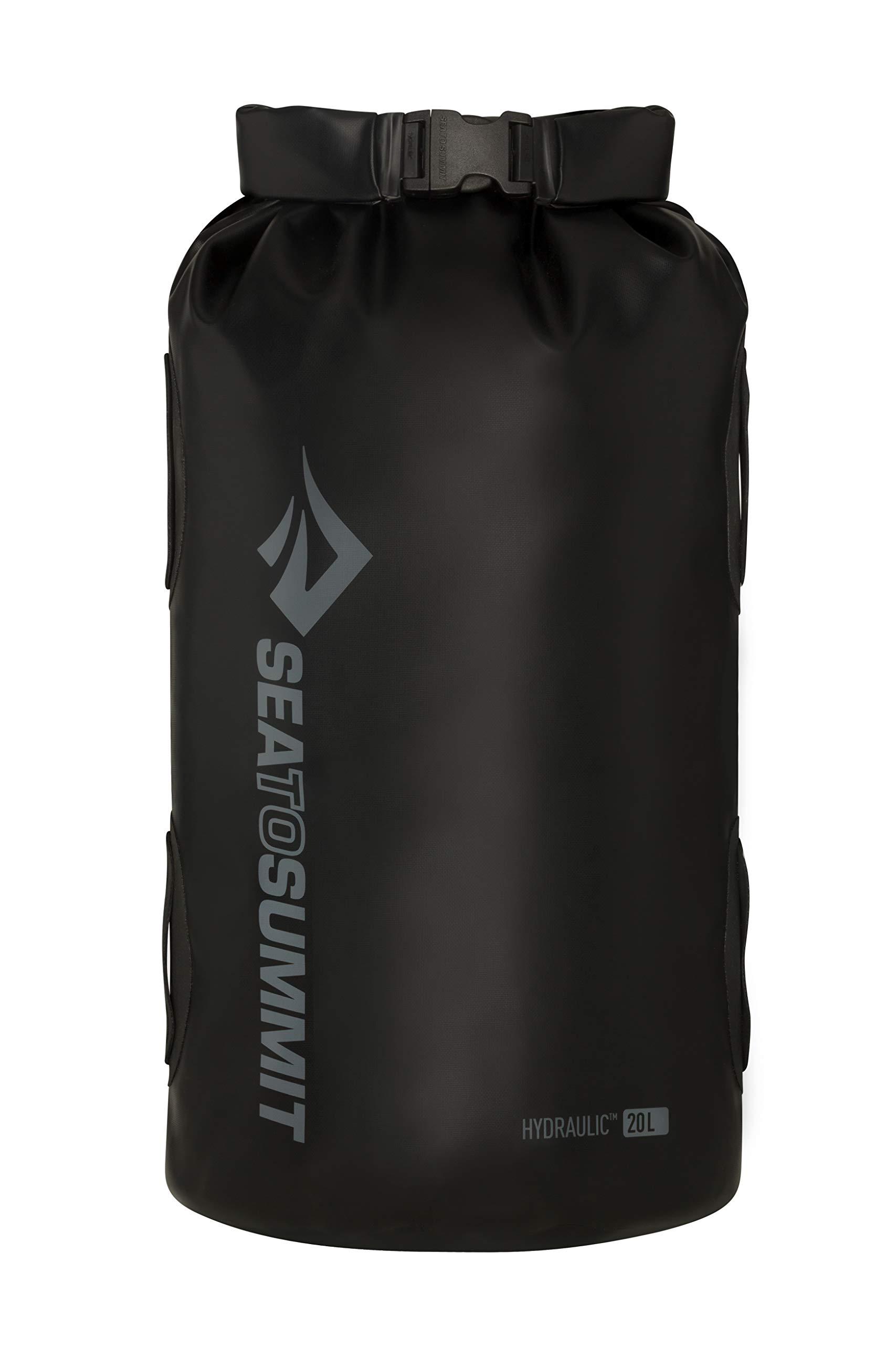 Sea to Summit Hydraulic Dry Bag, Black, 35 Liter by Sea to Summit