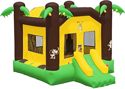 Amazon.com: HQ Grado Comercial Jungle Bounce cámara 100% PVC ...