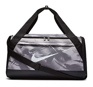 sale retailer e28d1 81c95 Amazon.com   Nike Brasilia Medium AOP Printed Duffel Bag   Sports Duffels