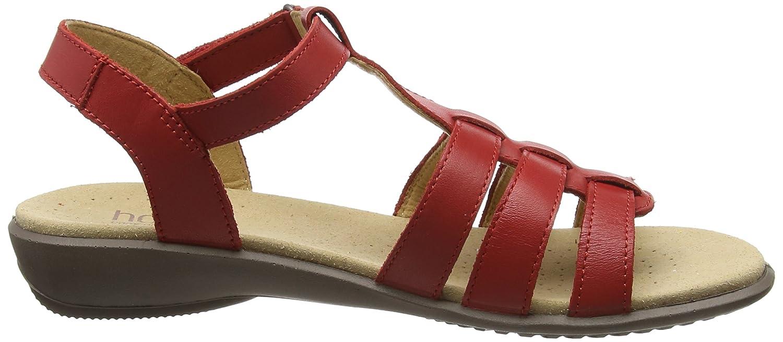 Hotter Damen Sol Rot) Sandalen Rot (Tango Rot) Sol 669387