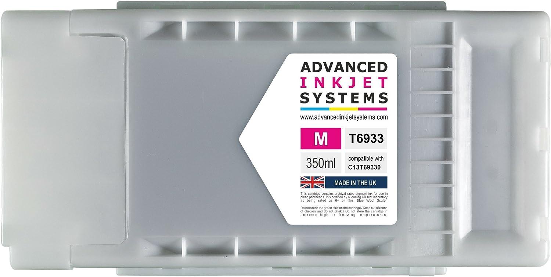 350 ml cartuchos de tinta compatibles para Epson SureColor T3000 T3200 T5000 T5200 T7000 T7200 impresoras Reino Unido fabricado.: Amazon.es: Oficina y papelería