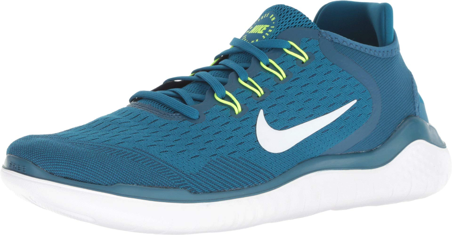 finest selection 9a034 fefff Galleon - Nike Free RN 2018 Men s Running Shoe Blue Force White-Green Abyss  11.5
