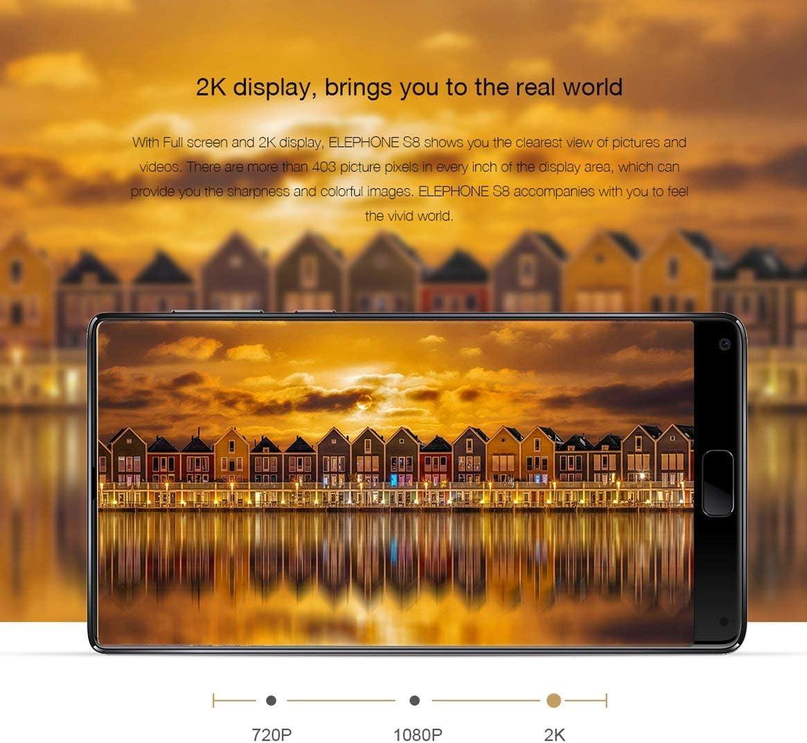 Elephone S8 6.0 Pulgadas 2K 1440x2560 Pantalla 10 Núcleo 4 + 64G ...