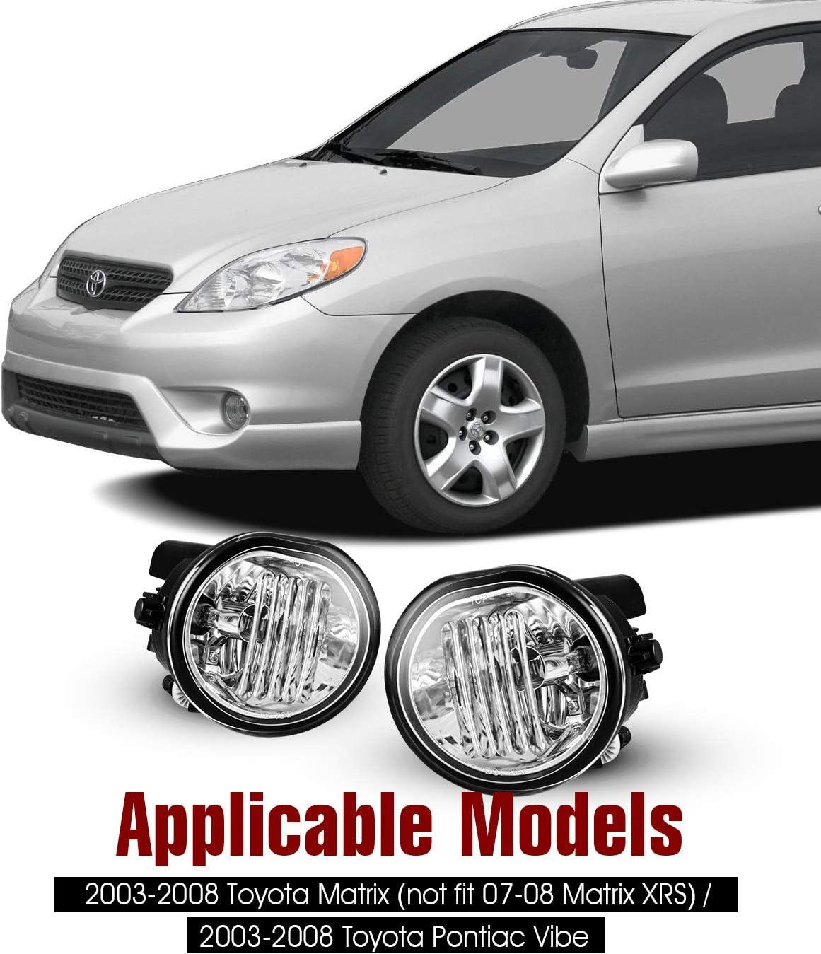 For Toyota Matrix 2003-2008 6x Combo 9005 9006 9006 LED Headlight Fog Light Bulb