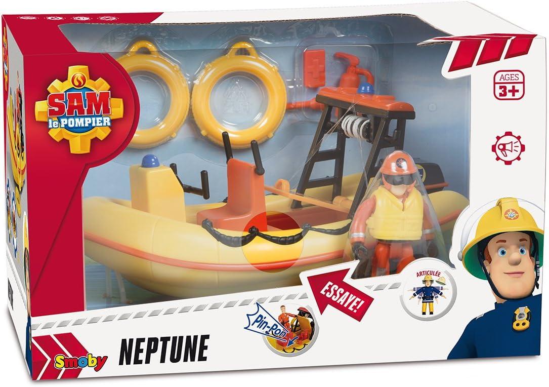 Amazon.com: Sam Océano Barco Bombero Neptune: Toys & Games