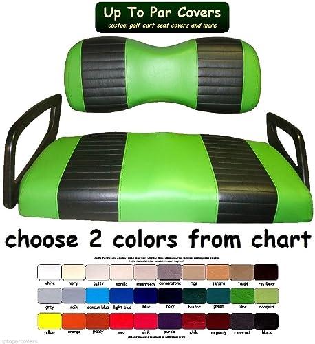 Amazon.com: Yamaha Drive Custom Golf Cart Front Seat Cover Set PLUS on golf bag color chart, auto paint color chart, yamaha drums color chart, ping golf clubs color chart, club car color chart, ez go color chart, yamaha guitar color chart,