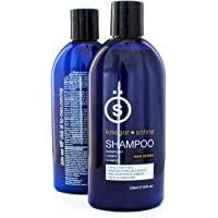 Shampoo for Mens Hair - Contains Invigorating Tea Tree Oil - Krieger + Söhne Man Series - For All Hair Types - Exploit…
