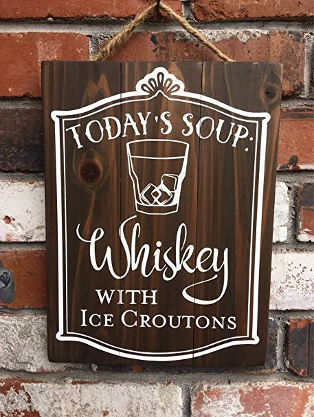 CELYCASY Hoy Sopa Whisky Hielo Croutons - Bar - Restaurante ...