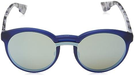 Christian Dior Damen Sonnenbrille DIORONDE1 A4 Qyi, Blau (Mattbluee Hvn/Light Blue Grey Speckled Marl), 99