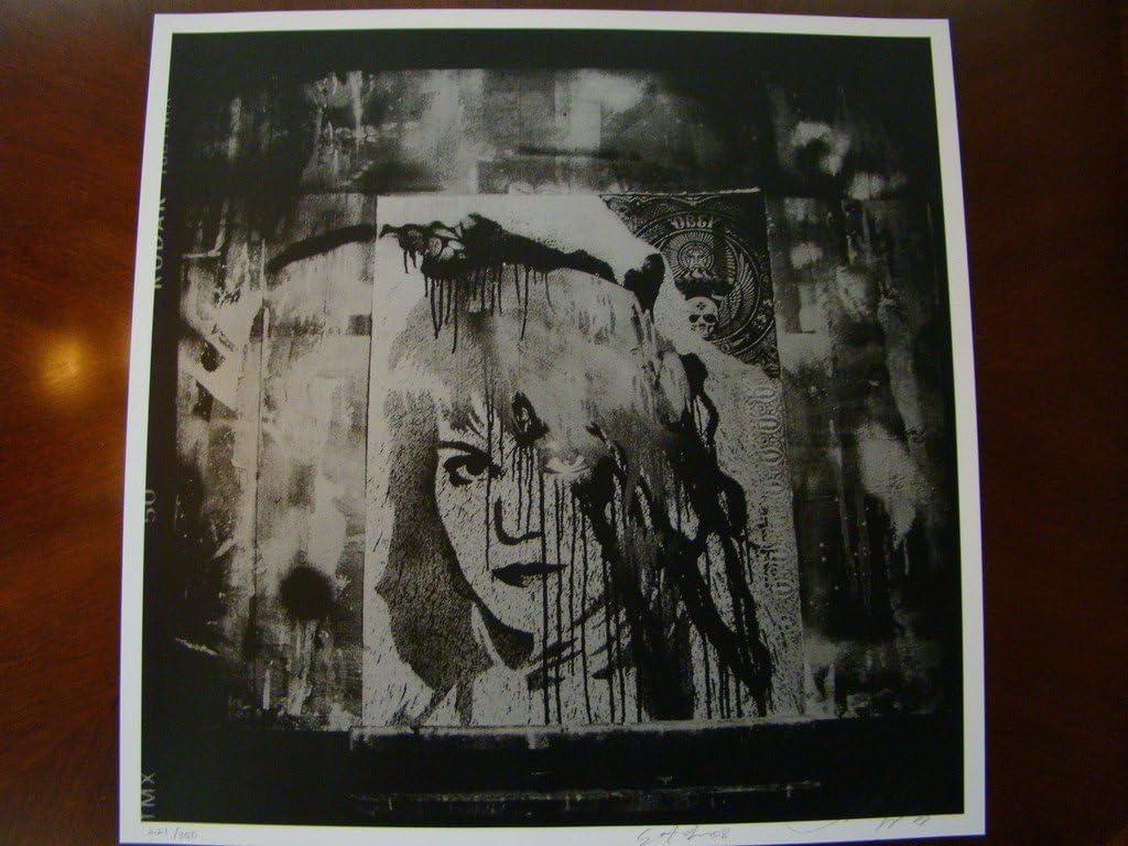 Rock N Roll Art Print I Love Rock Collage 08 Fairey Yerena At