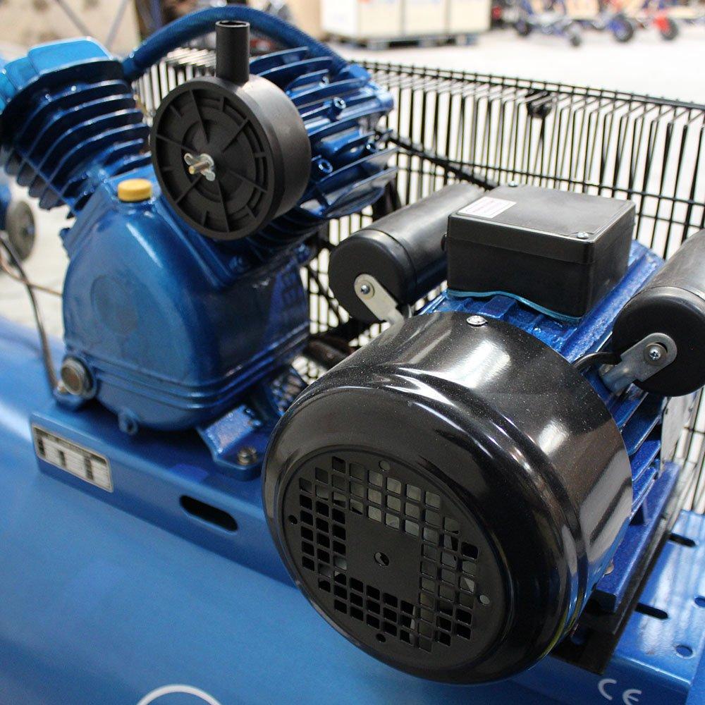 Compresor de aire con depósito de 300 litros y motor de 3 caballos de fuerza: Amazon.es: Bricolaje y herramientas