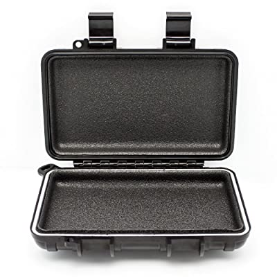 GPS Tracker Car Case by GERO - Weatherproof Mini Portable Waterproof Case Stash Box with Magnetic Mount for Under Car - Protect Your GPS Tracking System, Hide a Key, Jewelry, Money, and More! - Large: Sports & Outdoors