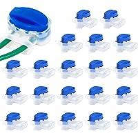 LOVEXIU Conectores de Cable, Conector de Cable con Gel, 20 pcs Conector de Cable para Robot, Juego de Conectores de…